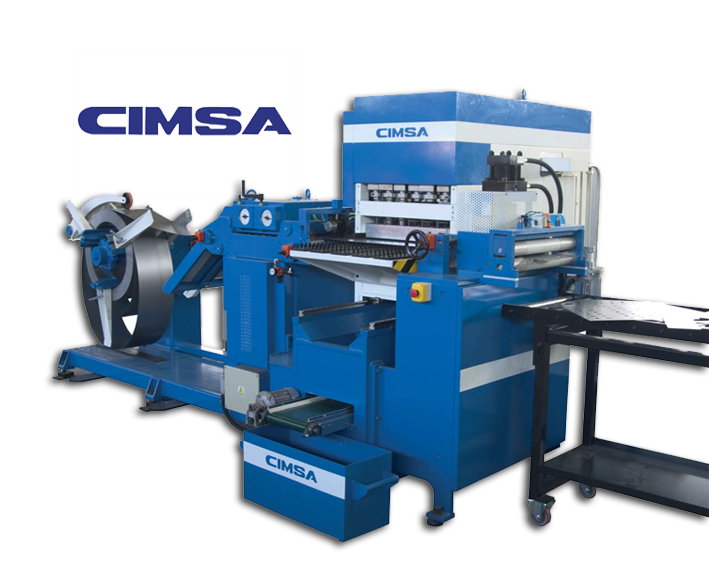 Automatic lines for Punching & cutting from coils
